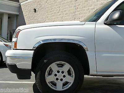 Made in USA Works with 2000-2006 Chevy Silverado Regular Cab 2PC Stainless Steel Chrome Window Sill Overlay
