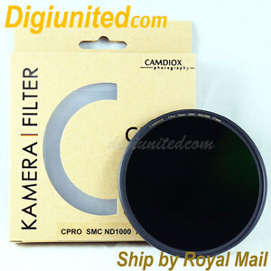 UK-Camdiox-77mm-C-Pro-Nano-Slim-MC-SMC-ND1000-3-0-filter-for-B-W-Haida-Nisi-DSLR