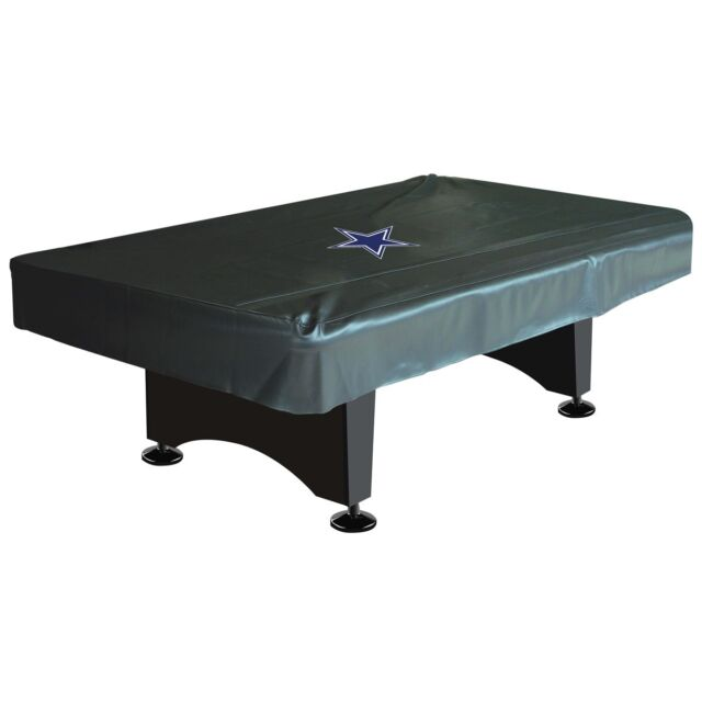 Superbe NFL Dallas Cowboys 8 Ft Fitted Leatherette Pool Table Cover W/ FREE Shipping