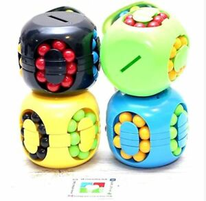 Burger-Cube-Coin-Bank-Puzzle-Cube-YELLOW