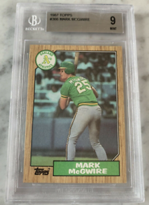 1987-Topps-Mark-McGwire-366-Rookie-Card-PSA-BGS-9-MINT-Perfectly-Centered