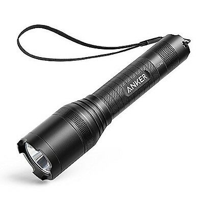 Anker LC90 LED Flashlight IP65 Water-Resistant Zoomable Rechargeable Pocket-S...