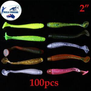 1Pcs Maggot Grub Soft Lure Baits Worms Glow Shrimps Fish Lures Plastic 22cm
