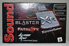 Creative Sound Blaster X-Fi XtremeGamer Fatal1ty Pro Series Audio Card SB046A VG