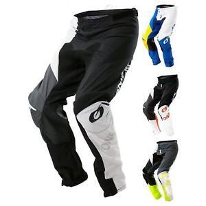 Bicicleta-de-montana-Enduro-MTB-downhill-pantalones-los-pantalones-oNeal-mayhem-que-Lite-split-Moto