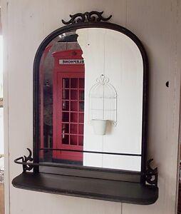 Spiegel wandspiegel ablage badezimmer bad landhausstil for Spiegel ablage badezimmer