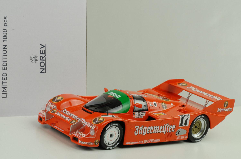 1986 Porsche 962 C  17 winner 1000km spa 1986 Jägermeister 1 18 norev DIECAST