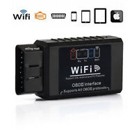 ELM327 WiFi OBDII OBD2 Auto Car Diagnostic Scanner Tool For iPhone Android PC