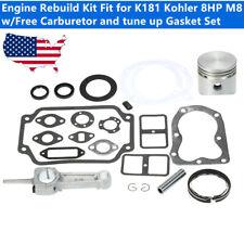 Tecumseh H70 V70 7hp Complete Engine Rebuild Kit 34517 Piston 32591 Rod 33235