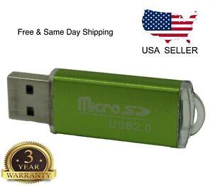 New-Portable-USB-2-0-Adapter-Micro-SD-SDHC-Memory-Card-Reader-Writer-Flash-Drive