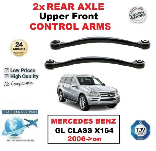 2x REAR AXLE Upper Front CONTROL ARMS for MERCEDES BENZ GL CLASS X164 2006-/>on