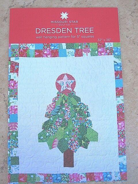 "Dresden /& Dresden Botanica Quilt Pattern for 5/"" Squares Missouri Star Quilt Co"