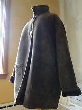 Women's Luxury Lambskin ~ Shearling Ranch Coat ~ It's Beautiful. And Warm. 3XL