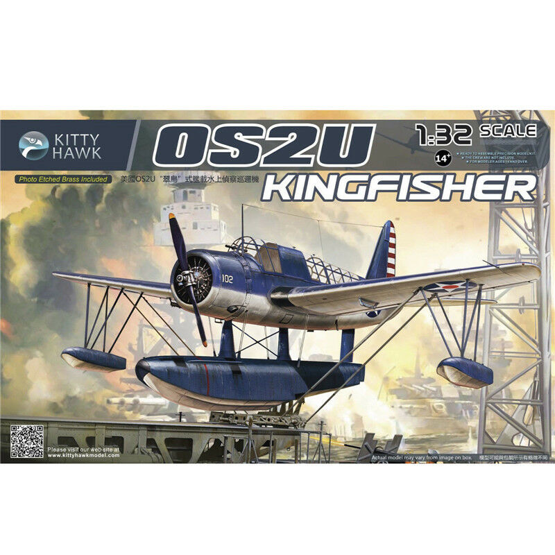 2018 Hot Sale Kitty Hawk 1 32 KH32016 OS2U Kingfisher New.