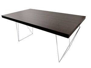 temahome multi tres schreibtisch arbeitstisch b rotisch tisch holz schoko neu ebay. Black Bedroom Furniture Sets. Home Design Ideas
