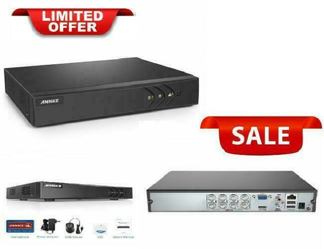 5-In-1 1080P Lite Security Standalone Dvr H 264+ Hdmi Output Quick Qr Code  Scan