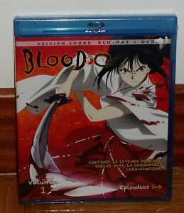 BLOOD-C-VOLUMEN-1-EPISODIOS-1-4-COMBO-BLU-RAY-DVD-NUEVO-PRECINTADO-MANGA-COMIC