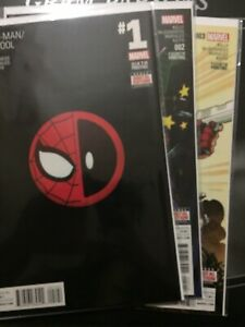 Details about Spider-Man Deadpool Vol  1 #1-25 Lot Marvel Comics Variants