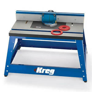 kreg router table kreg prs2100 16 quot x 24 quot 406mmx610mm precision benchtop 28924