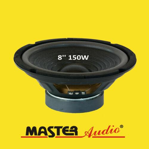 "Master Audio cw800//8 Bass altavoces 8/"" woofer 150 vatios # 8 Ohm"
