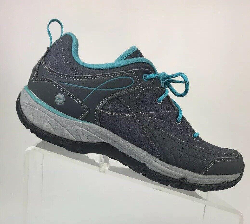 Hi Tech I-Shield para mujer M gris Azul Zapatos De Senderismo