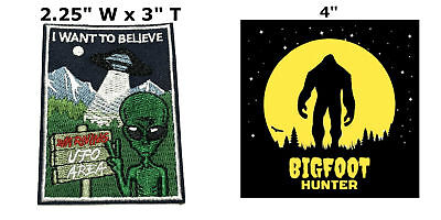 3 X-Files I Want To Believe Movie TV Series Embroidered sew on iron on patch cosplay transfer COMICS APPLIQUE