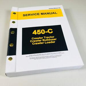 service manual for john deere 450c crawler bulldozer loader dozer rh ebay com john deere 450b dozer service manual john deere 450c dozer service manual