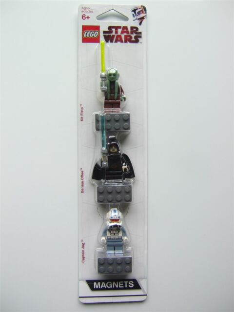 Lego Star wars Magnets Fisto, Barriss, Captain Jag - 852947