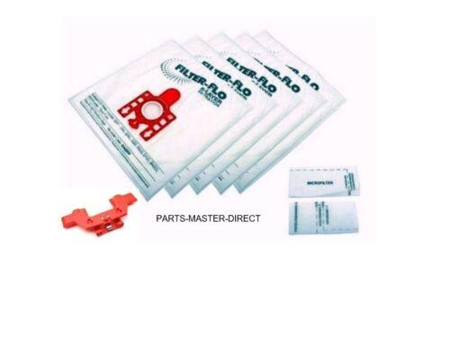 FJM Miele Compact C2 Sacchetti 5 sacchetti e 2 filtri con Borsa Titolare