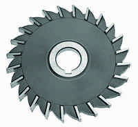 """4 x 7/32 x 1-1/4"""" HSS Side Milling Cutter - Straight Tooth"""