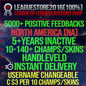League-of-Legends-Account-LOL-NA-Unranked-Lvl-30-All-Champs-Smurf-Skins-Acc-BE