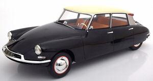 Premium Classixxs Citroën Ds19 Noir/crème En 1/12 Echelle Nouvelle Version !
