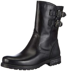 5 6 Tamaris Narrow Leather Size Everyday Uk Black Winter Boots 25436 Ankle Fit qp1qRAw7x