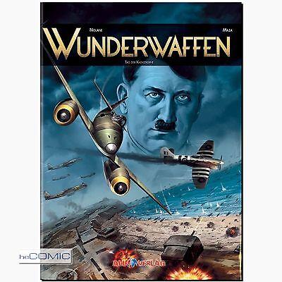 Wunderwaffen 5 Tag der Katastrophe FLIEGERSTAFFEL COMIC 40er All Verlag HC NEU