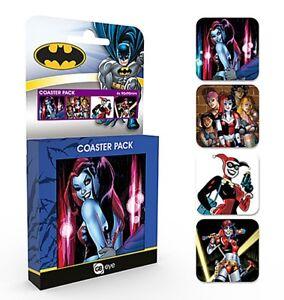 Harley-Quinn-Batman-set-of-4-cork-backed-drinks-coasters-ge