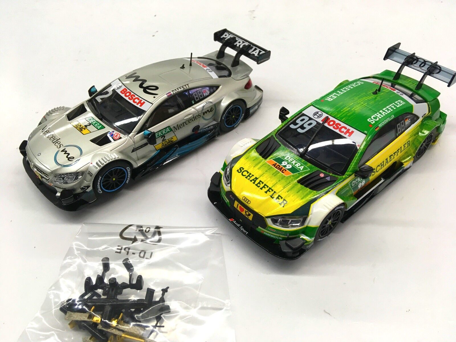 Carrera Evolution Mercedes-Amg C 63 + DTM Audi Rs 5 27588 +27572