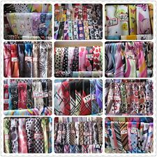 "CLEARANCE LOT by  POUND! Print Square Scarves 20""x20"" Silk-felt Scarf Wholesale"