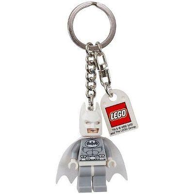 Arctic Batman 2013 LEGO Keychain Mini-Figure 850815 6039454 DC Universe NEW