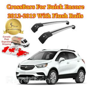 Cross-Bar-Crossbar-Fits-Buick-Encore-2012-2019-Baggage-Roof-Rack-Flush-Rail-lock