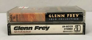 Lot of 2 GLENN FREY Cassette Tapes ~ Solo Collection, No Fun Aloud