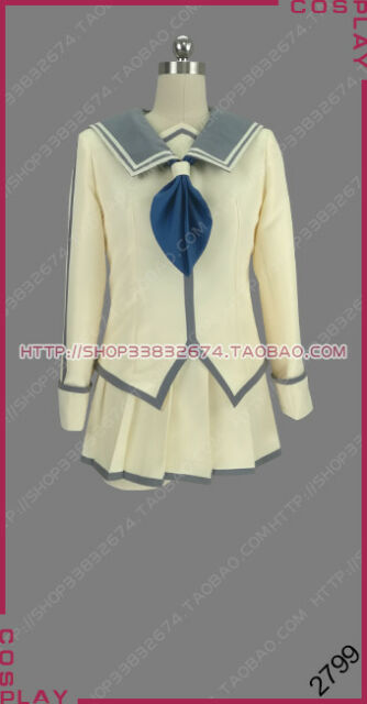 e6614ba102d87 Dies Irae Protagonist Kasumi Ayase Dress Clothes Cosplay Costume S002
