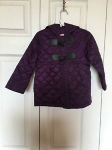 Circo Toddler Girls Purple Light Puffer Jacket Coat Long