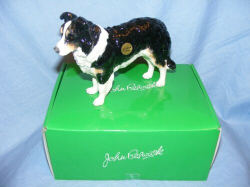John Beswick Hund Border Collie Dreifarbig Jbd83tri Neu Ovp