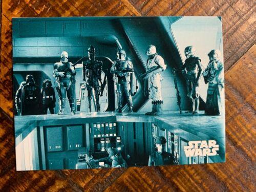 2019 Topps Empire Strikes Back Black /& White Blue Hue Card #64
