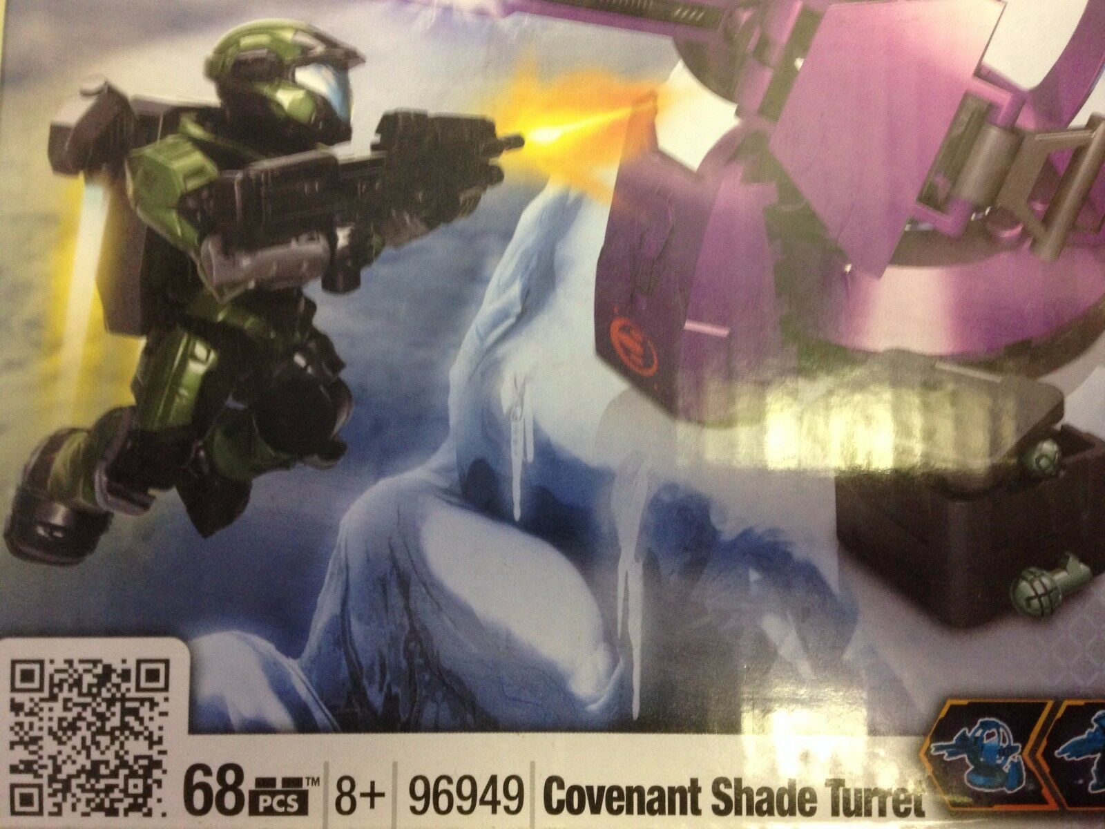 HALO MEGA BLOKS    COVENANT SHADE TURRET    BNIB   96949 5ff82f