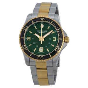 Victorinox-Swiss-Army-Maverick-GS-Green-Dial-Men-039-s-Watch-241605