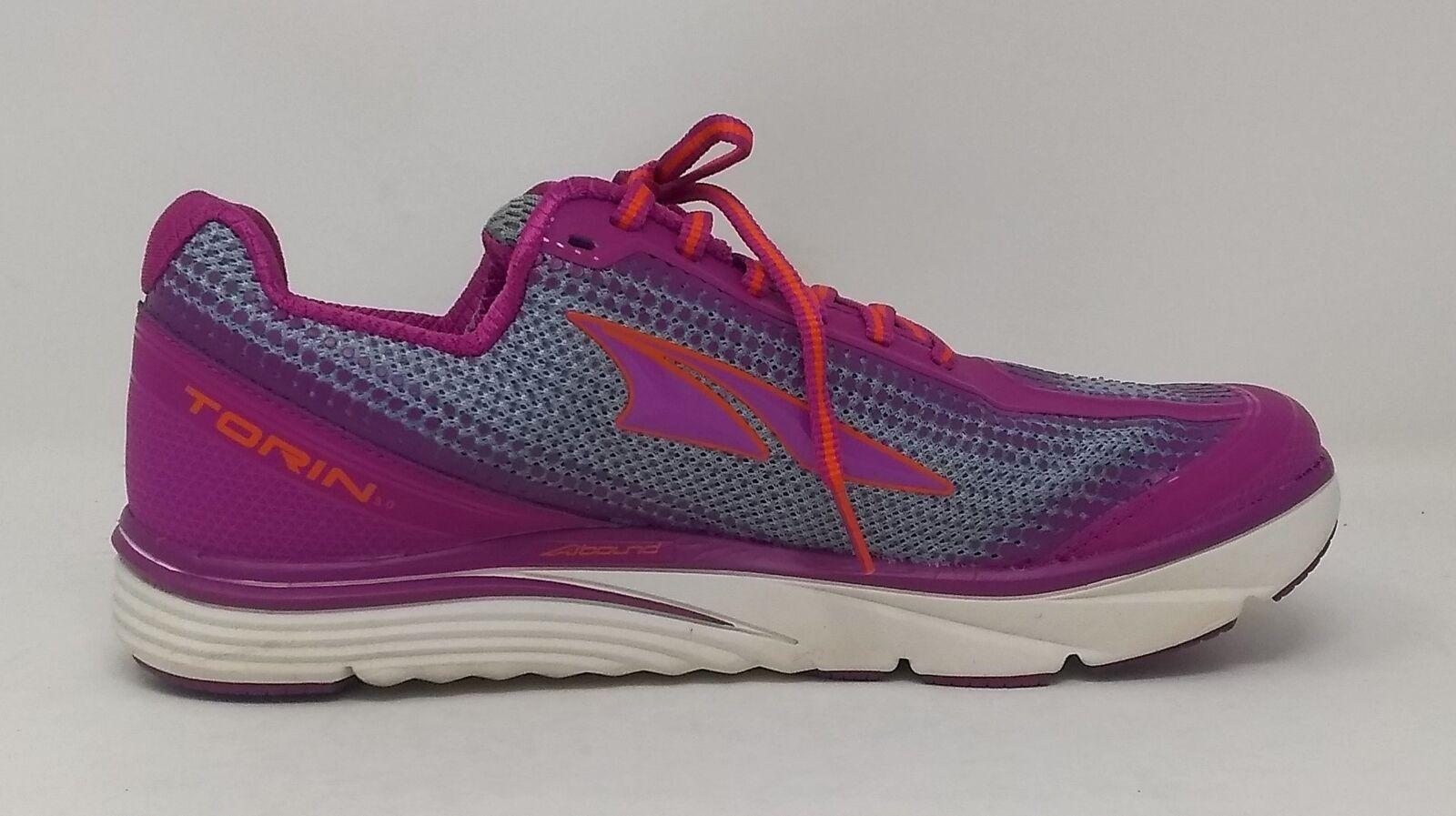 Altra Women's Torin 3 Road Running shoes, Purple orange - 10 B US - USED