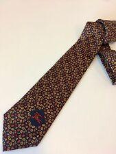 BURBERRY BURBERRY'S cravatta tie 100% seta silk nuova new original made in Engla