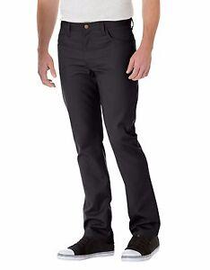 Dickies WP808 Men's Black Slim Straight 5-Pocket Twill Work Pant