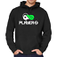 Player-1-2-Spieler-Gamer-Gaming-Geek-Nerd-Buddy-Partner-Kapuzenpullover-Hoodie